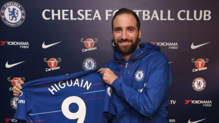 Игуаин: счастлив перейти в «Челси», давно хотел поиграть в Англии