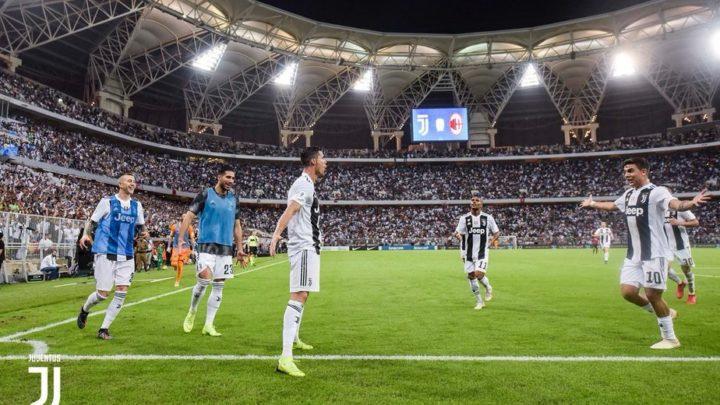 Благодаря голу Роналду, Ювентус восьмой раз стал обладателем суперкубка Италии