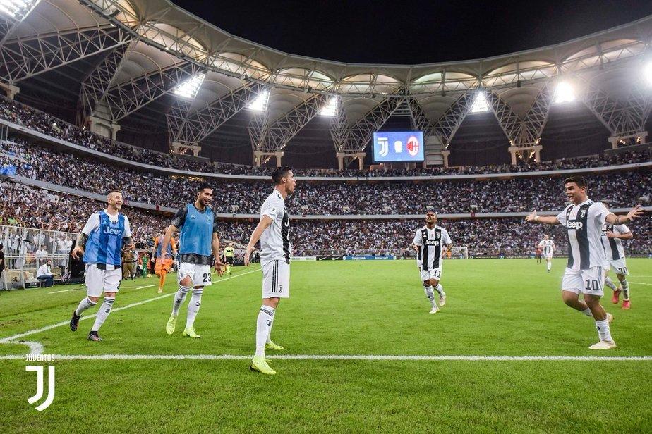Ювентус - Милан. Суперкубок Италии