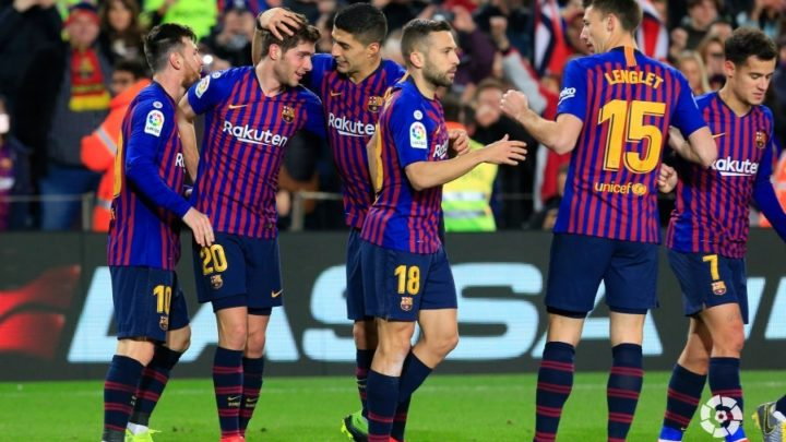 «Барселона»  в полуфинале Кубка Испании