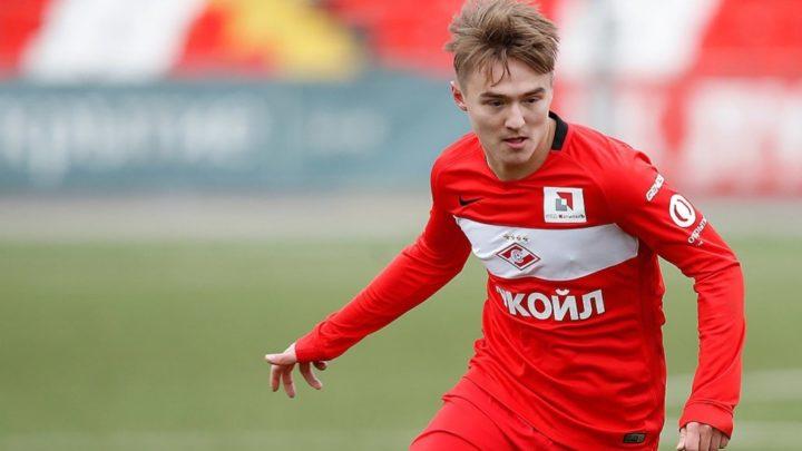 18-летний нападающий «Спартака» Прошляков привлёк внимание европейских клубов