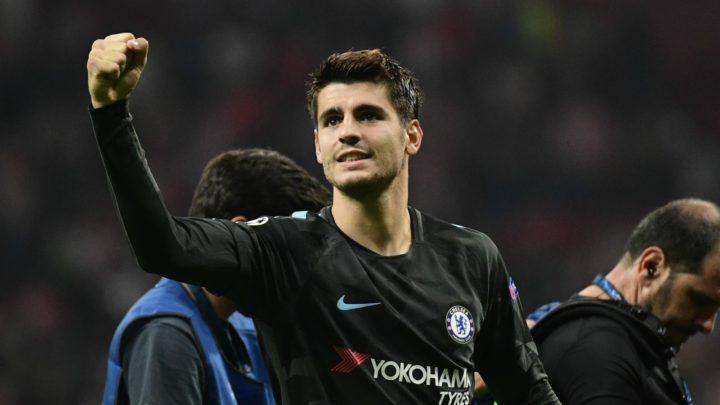 Нападающий «Челси» Мората может перейти в «Атлетико»