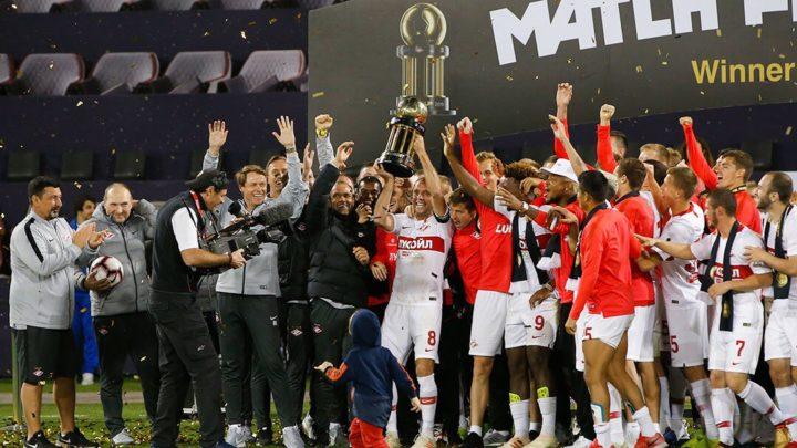 «Спартак» выставил в клубном музее трофей Кубка Матч Премьер