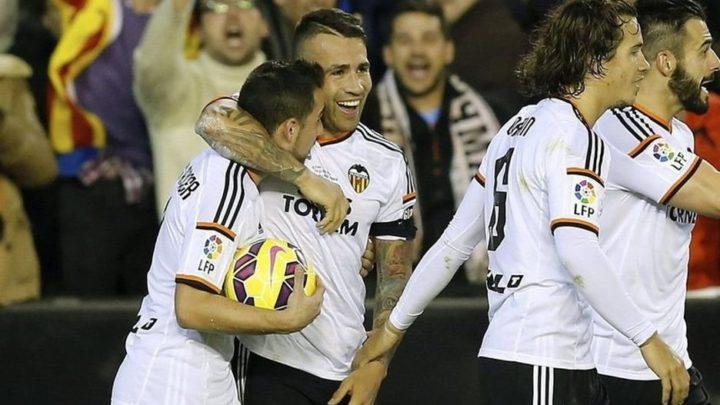 «Валенсия» в 1/4 Кубка Испании.