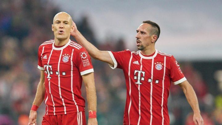 «Бавария» планирует организовать прощальный матч для Роббена и Рибери