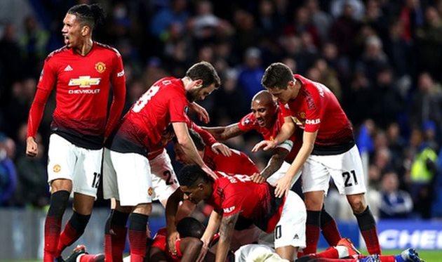 Манчестер Юнайтед выбил Челси из Кубка Англии