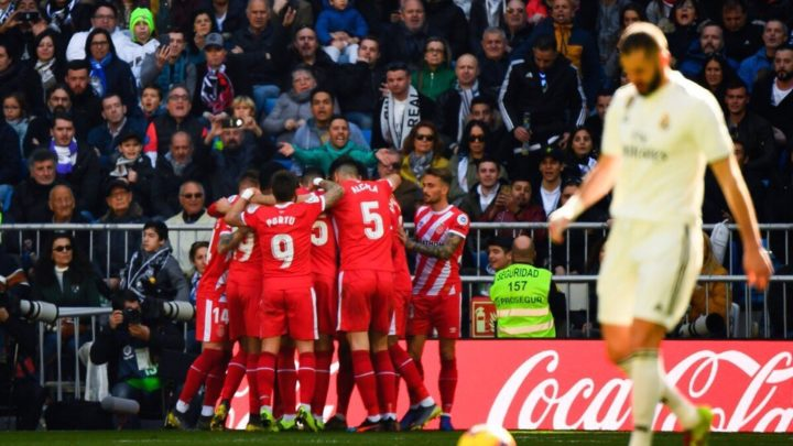 «Реал» потерпел поражение, проиграв «Жироне»