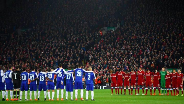 Матчи Лиги чемпионов и Лиги Европы начнутся с минуты молчания