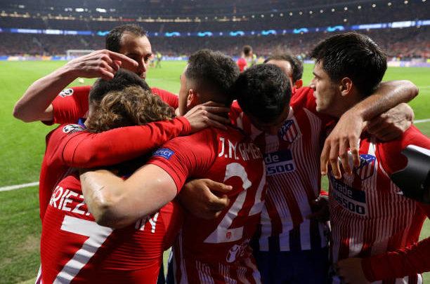 «Атлетико» и «Манчестер Cити» вырвали победу в лиге чемпионов