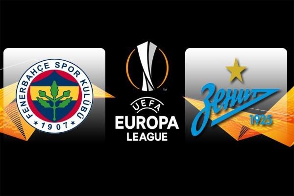 «Зенит» и «Фенербахче» сыграют в первом матче плей-офф в Лиге Европы