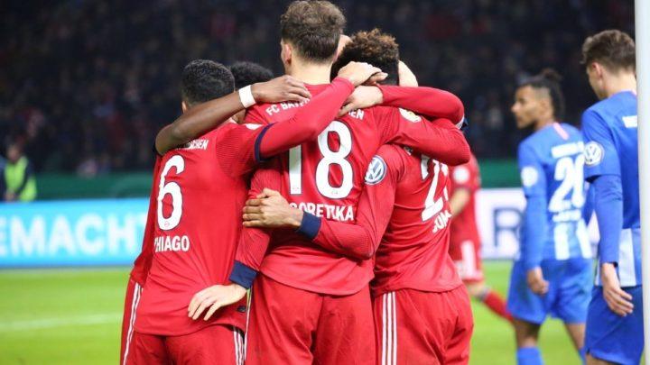 «Бавария»  одолела «Герту» в Кубке Германии
