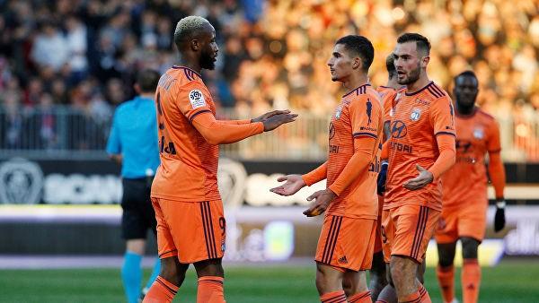 «Лион» одолел «Монпелье» в матче Лиги 1