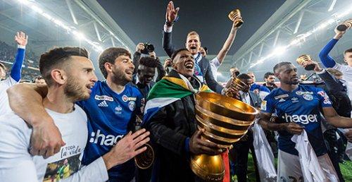 Страсбур – победитель кубка французской лиги 2018/19.