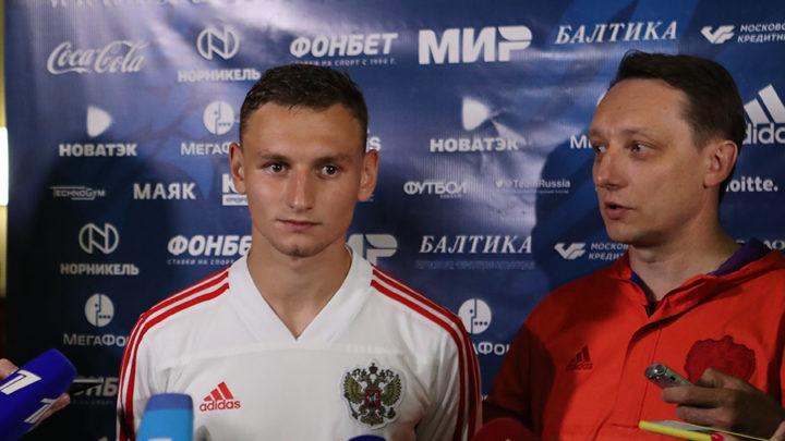 Чалов: нужно забыть игру с Бельгией и готовиться к Казахстану, обязаны побеждать