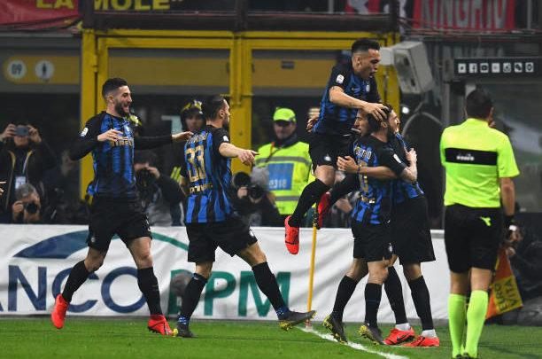 «Интер» не проигрывает дерби на протяжении 6 матчей подряд
