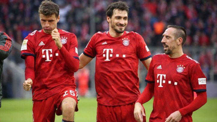 «Бавария» разгромила «Вольфсбург»