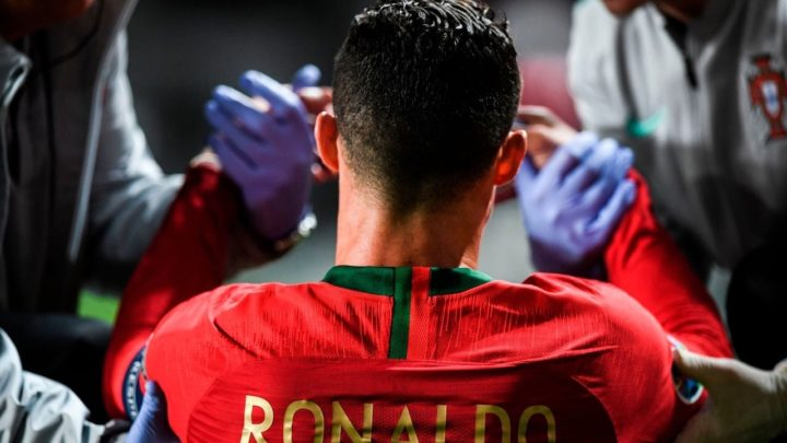 Роналду пропустит две недели на восстановление