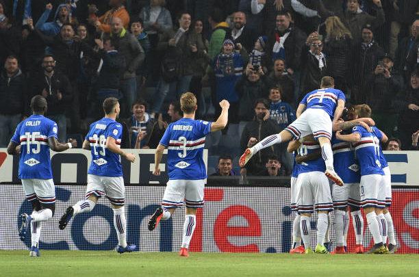 «Милан» проиграл «Сампдории», пропустив на 33-й секунде