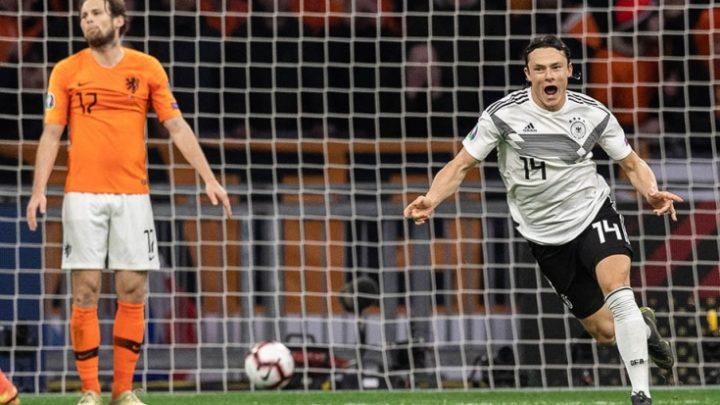 Германия вырвала победу в Амстердаме