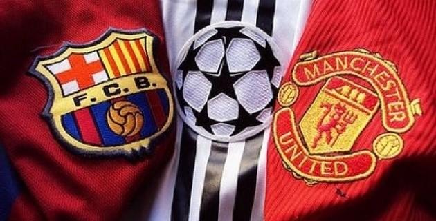 Первый матч пары Барселона — Манчестер Юнайтед пройдет на «Олд Траффорд»
