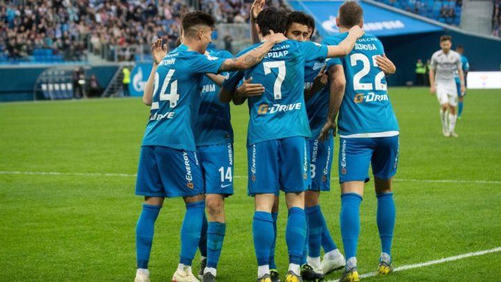 «Зенит» одержал волевую победу над «Оренбургом»
