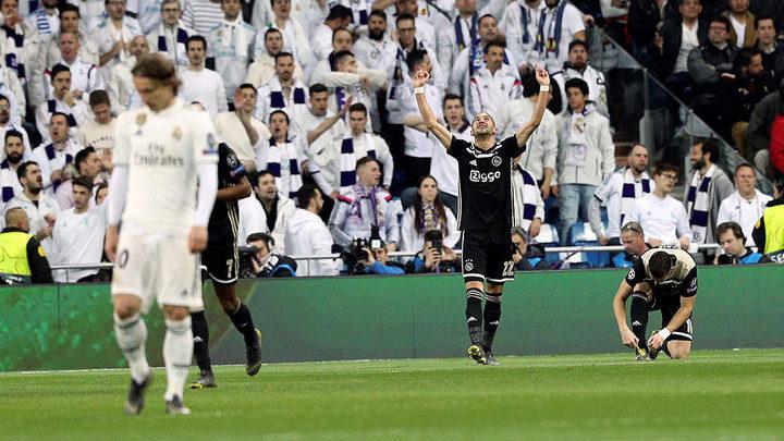 «Аякс» вышел в 1/4 финала Лиги чемпионов впервые за 16 лет