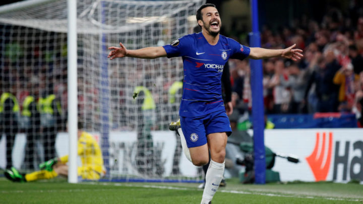 Педро признан лучшим игроком недели в Лиге Европы