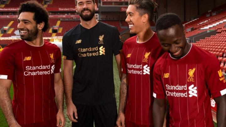 «Ливерпуль» представил домашнюю форму на сезон-2019/20