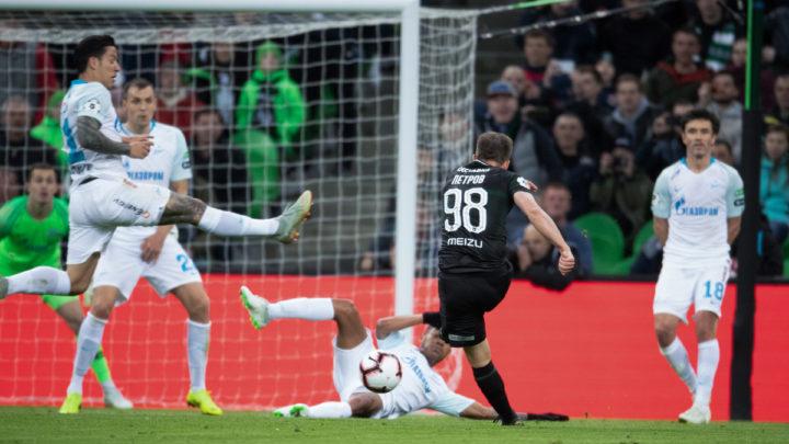 Зенит обыграл Краснодар в 24 туре РПЛ. Обзор матча и видео голов и моментов