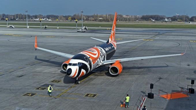 «Шахтёр» презентовал новый клубный самолёт
