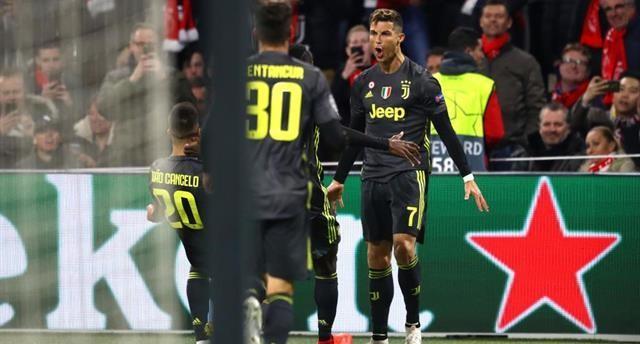 Роналду забил 125-й мяч в Лиге чемпионов