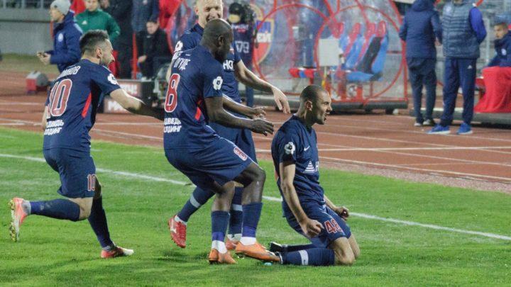 «Енисей» одержал победу над «Оренбургом»