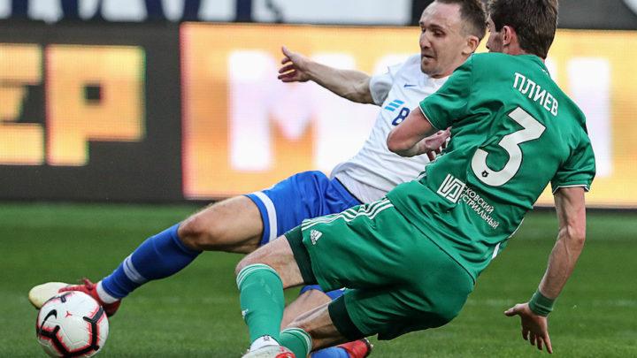 «Динамо» и «Ахмат» сыграли вничью