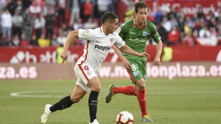 «Севилья» обыграла «Алавес» в чемпионате Испании