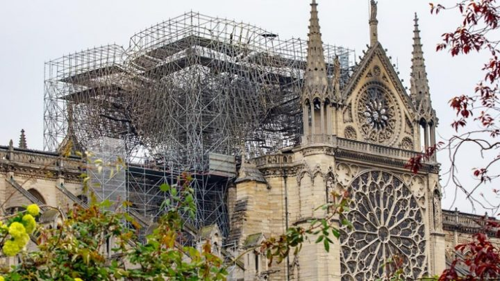 «ПСЖ» намерен поддержать реконструкцию Нотр-Дам де Пари