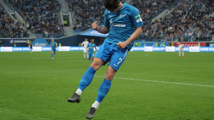 Зенит переиграл Динамо в 25 туре РПЛ