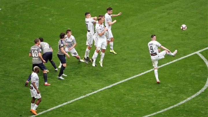 «Уфа» избежал поражения в матче с «Крыльями Советов» на 93-й матча