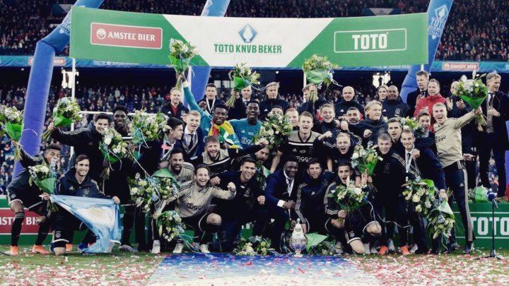 «Аякс» выиграл Кубок Нидерландов