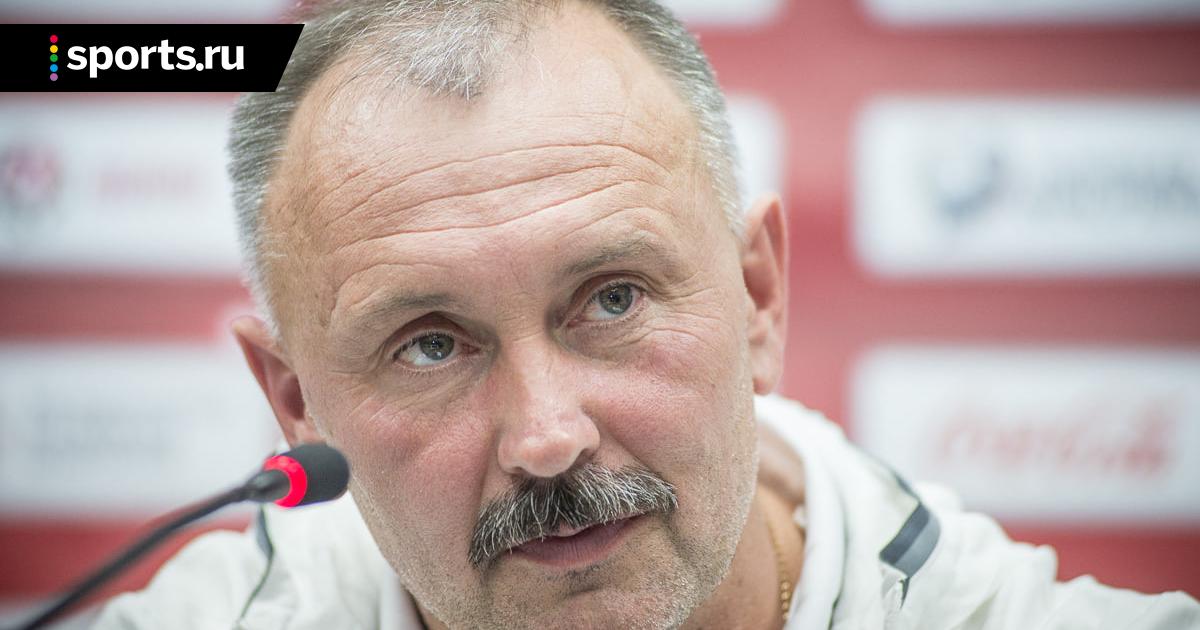 Криушенко после отставки:«Сборную Беларуси ждет светлое будущее»